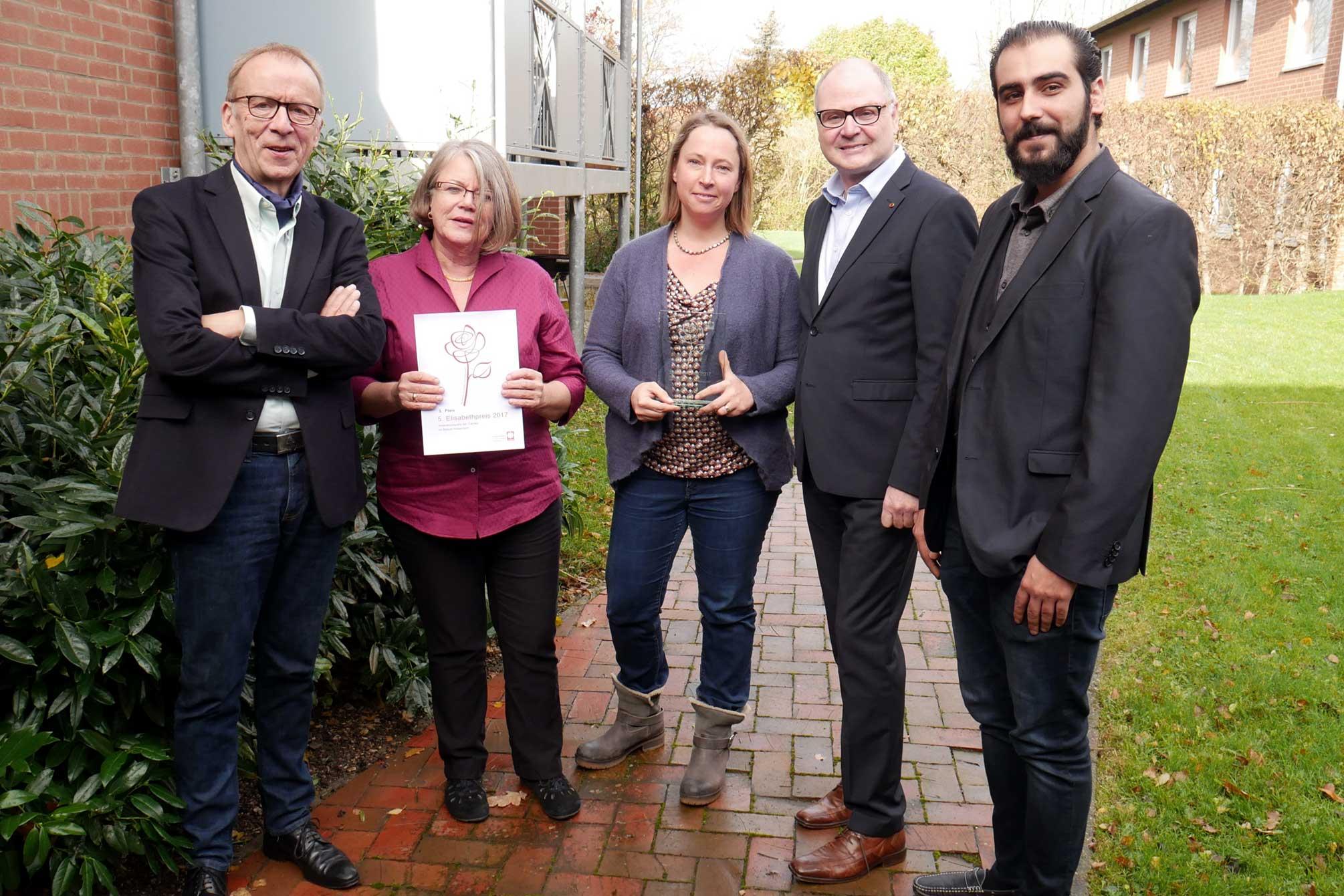 SkF gewinnt den Elisabethpreis